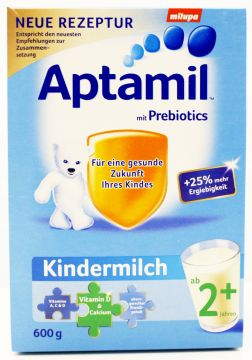 2 x Milupa Aptamil Kindermilch 2+