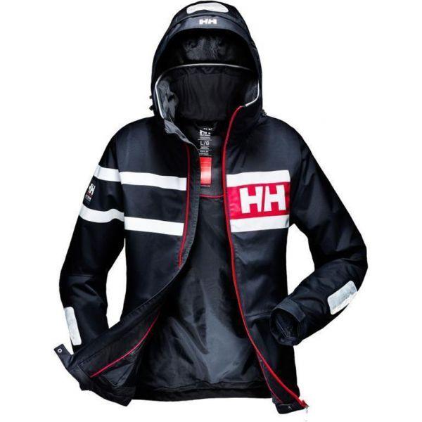 helly hansen herren segeljacke salt power jacket navy ebay. Black Bedroom Furniture Sets. Home Design Ideas