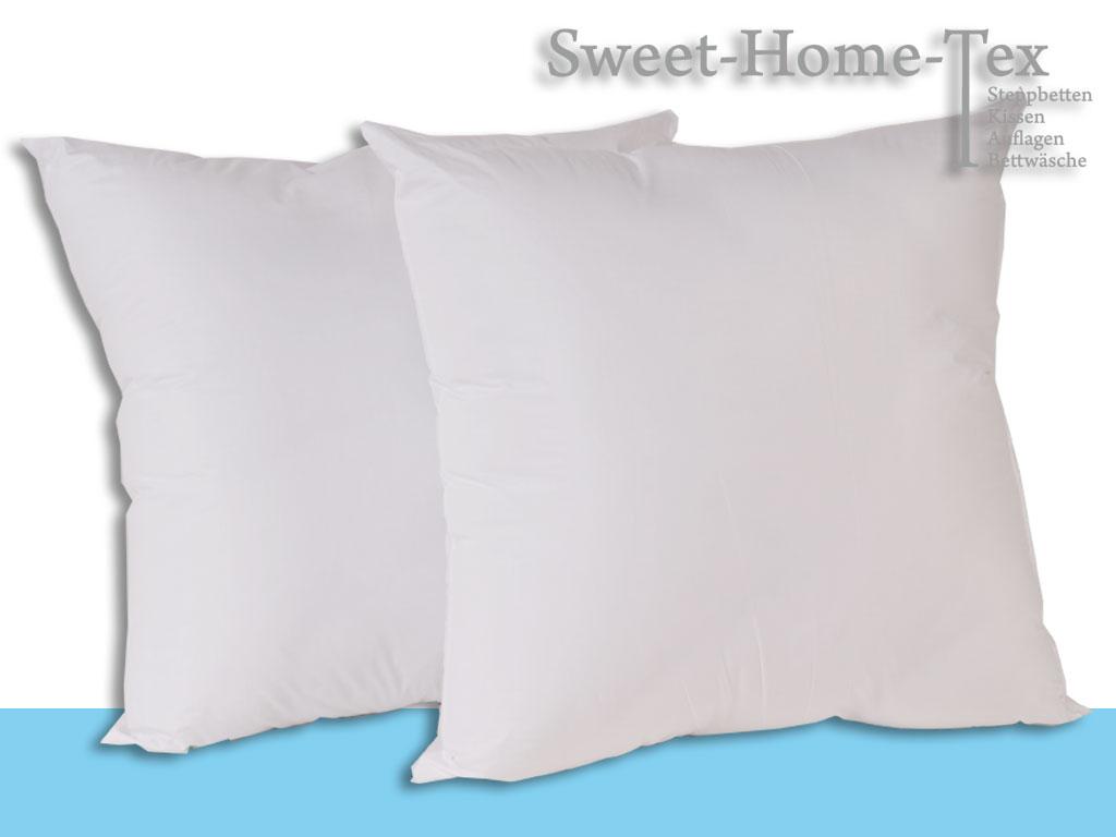 f llkissen dekokissen inlett kissen 50 x 50 cm modell standard doppelpack ebay. Black Bedroom Furniture Sets. Home Design Ideas