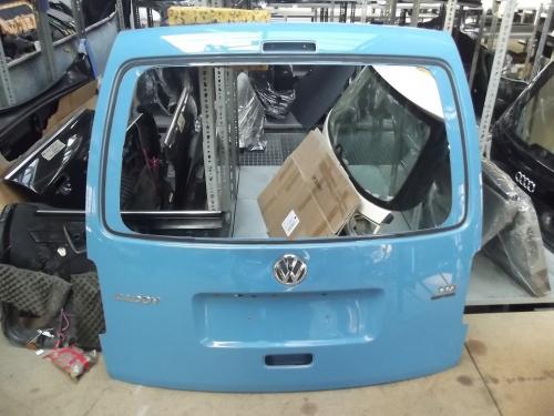 vw caddy 2k hellblau heckklappe klappe kofferraum. Black Bedroom Furniture Sets. Home Design Ideas