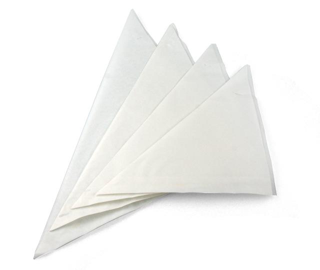 spitzt ten wei unbedruckt pergament ersatz papier fettdicht 19cm st ebay. Black Bedroom Furniture Sets. Home Design Ideas