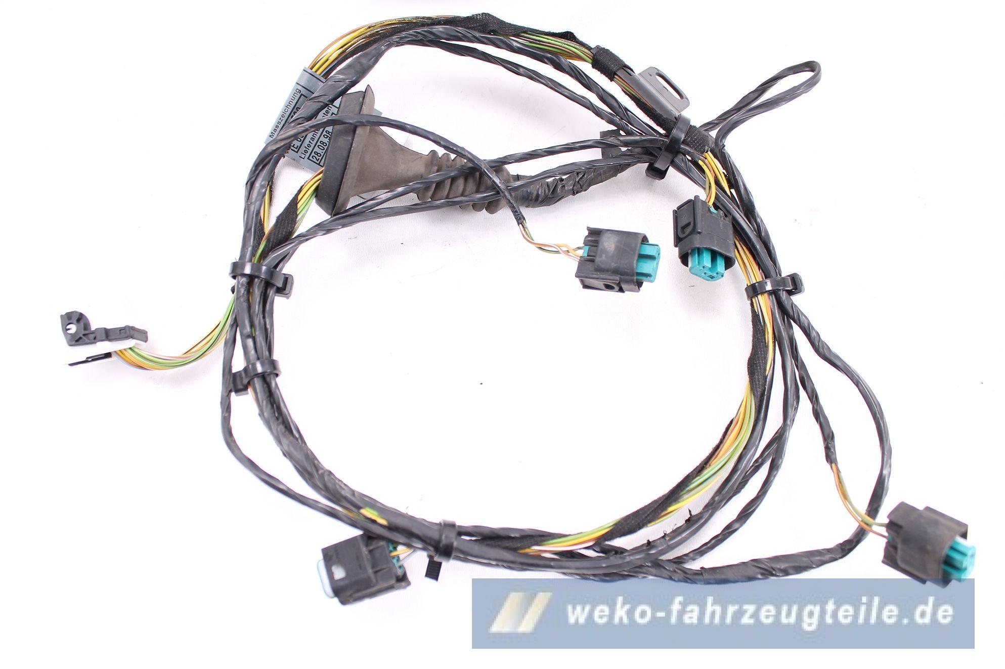 Bmw 3er e46 limousine pdc system mit kabelbaum sensor for Weko offnungszeiten