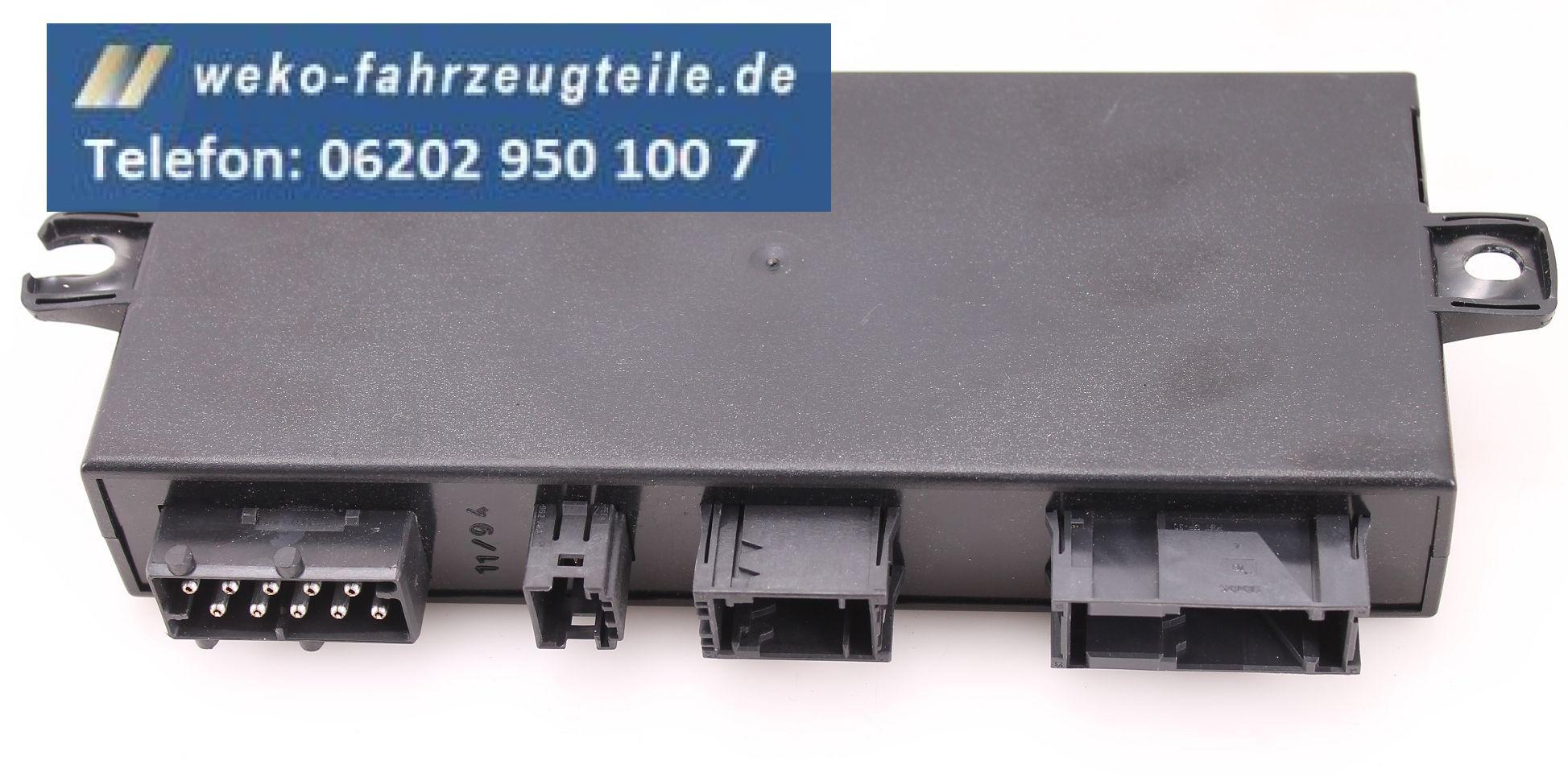 Bmw 3er e36 cabrio verdeckmodul steuerger t teilelektrisch for Weko offnungszeiten