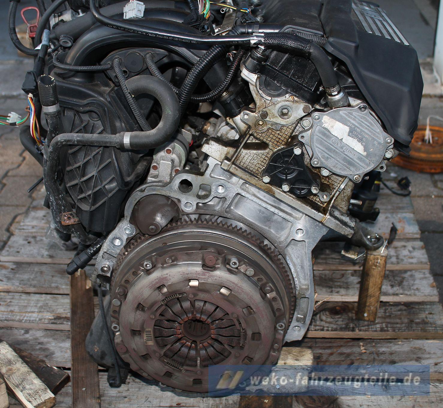 Bmw 3er E46 316i 316ti N42 Motor Triebwerk N42b18a 116ps