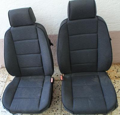 bmw e36 compact sitze sitz innenaustattung stoff antrazit. Black Bedroom Furniture Sets. Home Design Ideas