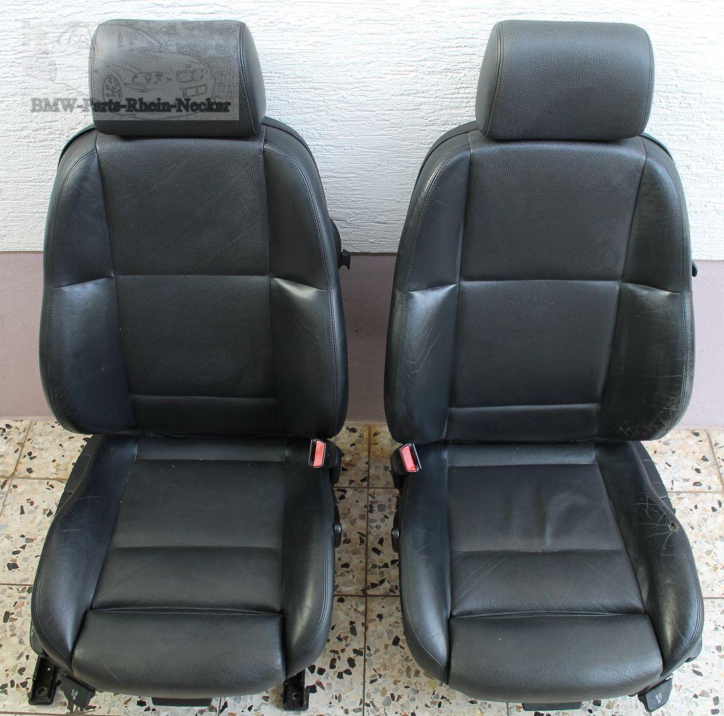 bmw e36 compact sitz sportsitze leder schwarz mit. Black Bedroom Furniture Sets. Home Design Ideas