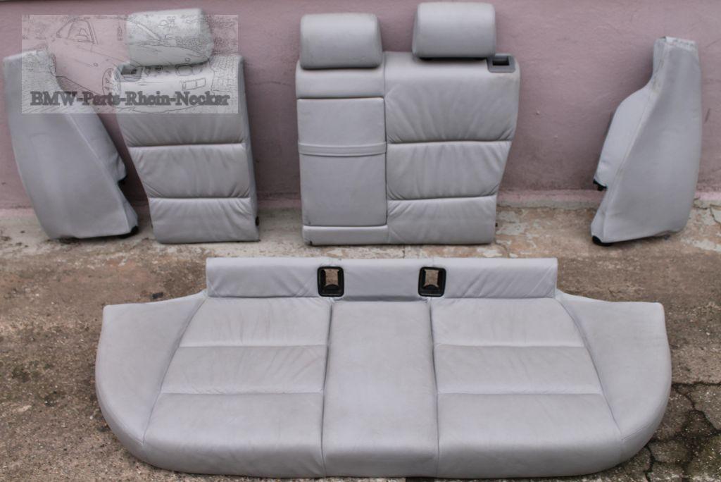 bmw e36 touring sportsitze sitze sitz leder grau hellgrau. Black Bedroom Furniture Sets. Home Design Ideas