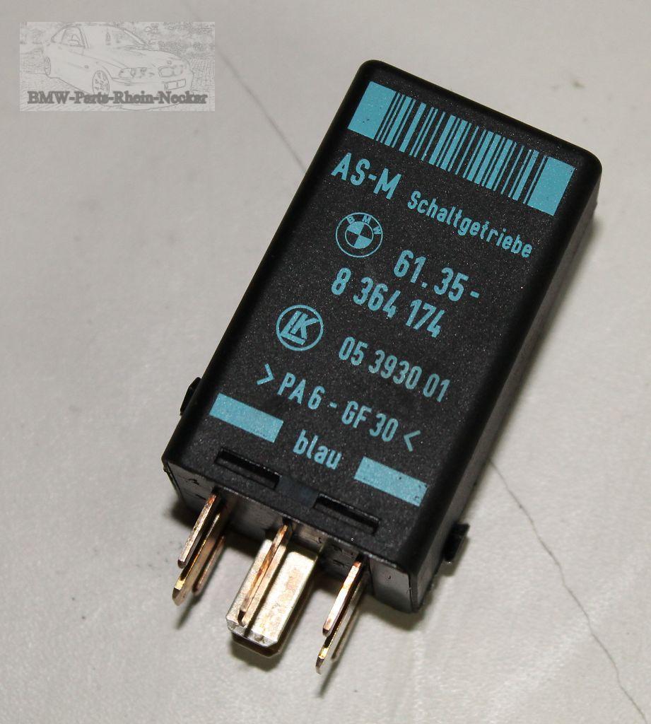 bmw e36 e34 e31 as m relais modul schaltgetriebe 8364174. Black Bedroom Furniture Sets. Home Design Ideas