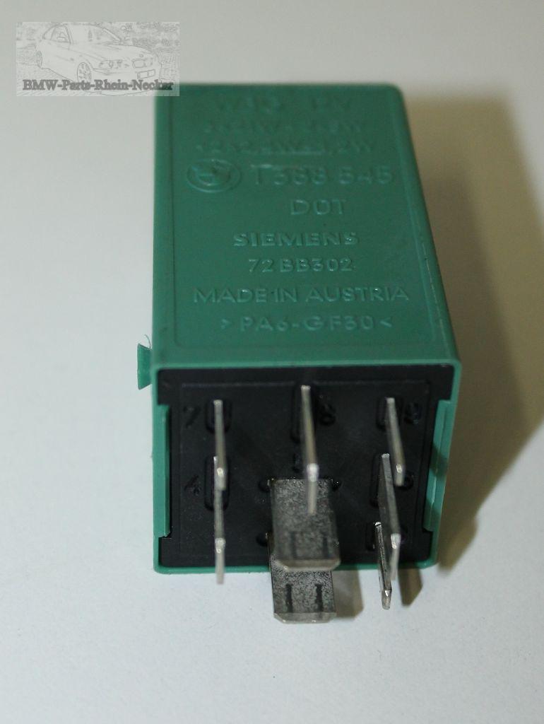 bmw relais e36 e34 e31 blinkerrelais anh ngerkupplung. Black Bedroom Furniture Sets. Home Design Ideas