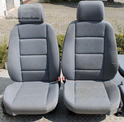 bmw 3er e36 coupe sitze sitz lordosenst tzen stoff grau. Black Bedroom Furniture Sets. Home Design Ideas
