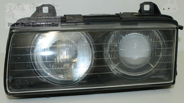 bmw 3er e36 scheinwerfer frontscheinwerfer links zkw de. Black Bedroom Furniture Sets. Home Design Ideas