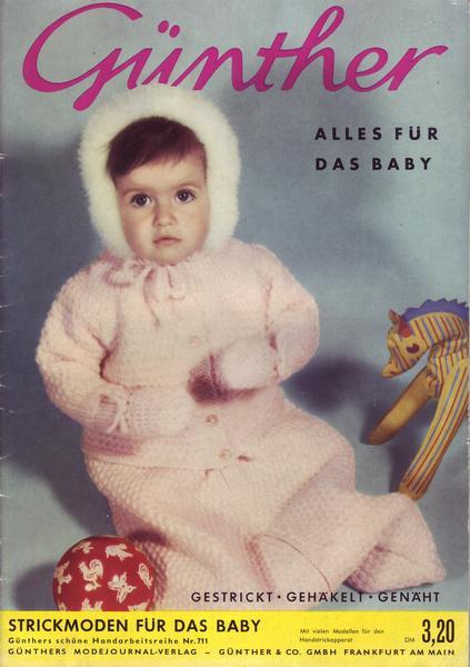 G?nthers Strickmoden f?r das Baby Nr. 711 eBay