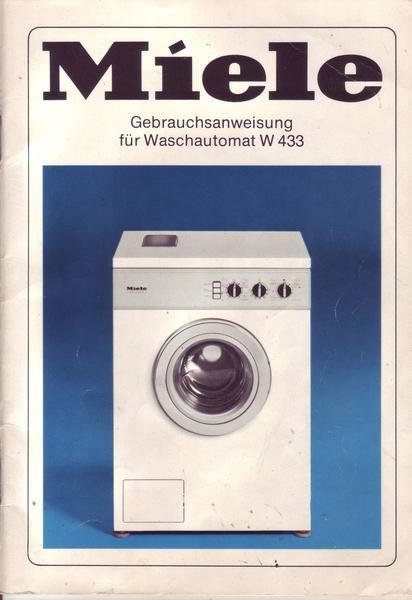 Miele W 433 : miele waschautomat w 433 ebay ~ Michelbontemps.com Haus und Dekorationen