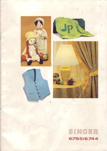 singer 6785 6744 machine coudre manuel d 39 utilisation ebay. Black Bedroom Furniture Sets. Home Design Ideas