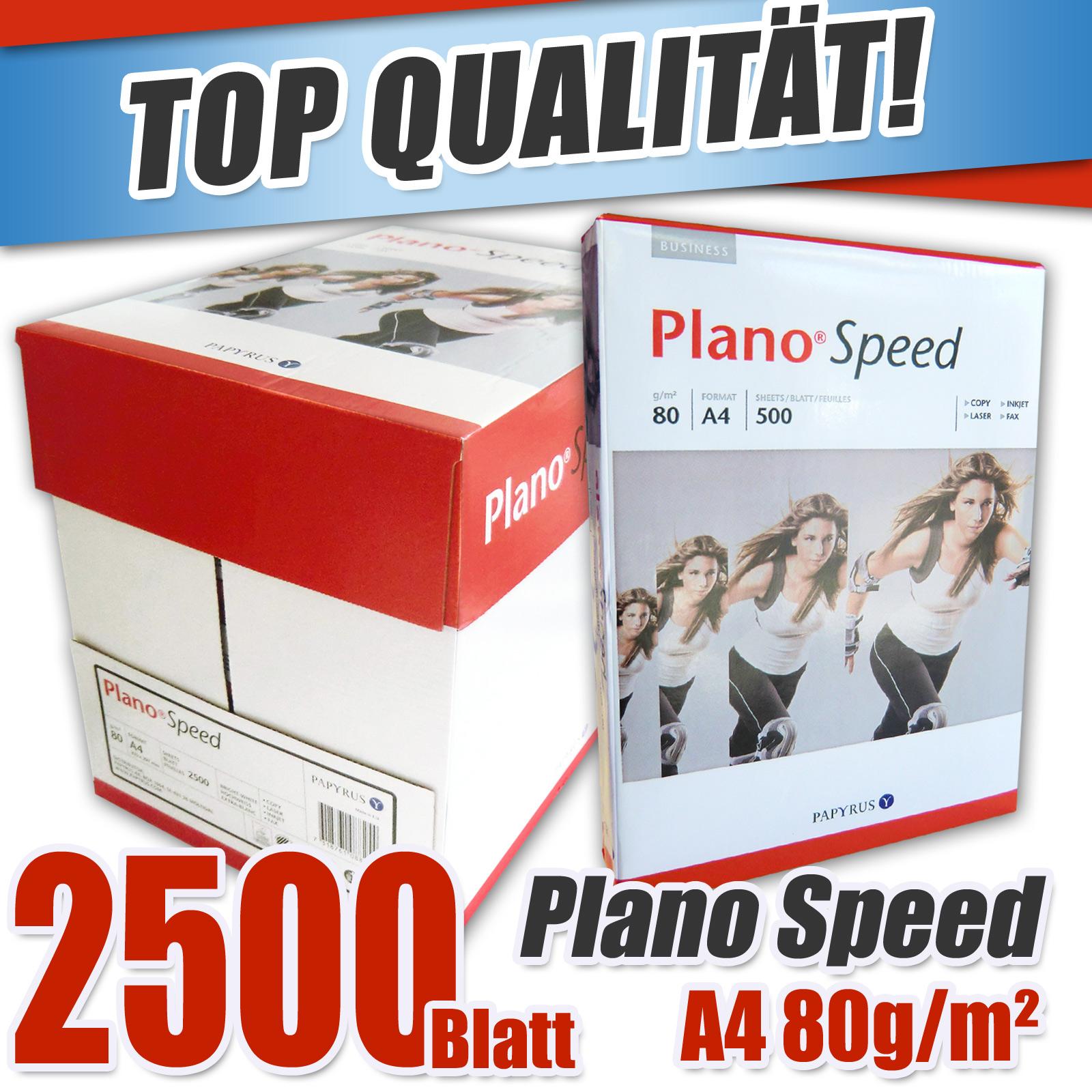 2500x kopierpapier din a4 papyrus plano speed druckerpapier fax copy paper laser ebay. Black Bedroom Furniture Sets. Home Design Ideas