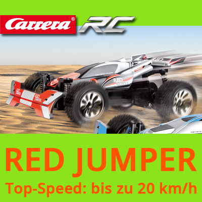 carrera rc red jumper ferngesteuertes auto buggy 2 4ghz. Black Bedroom Furniture Sets. Home Design Ideas