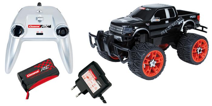 carrera rc ford f 150 svt raptor ferngesteuertes auto. Black Bedroom Furniture Sets. Home Design Ideas