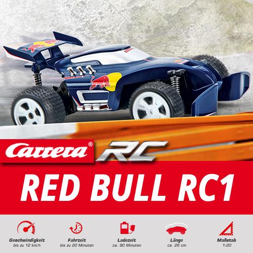 carrera rc red bull ferngesteuertes auto buggy akku. Black Bedroom Furniture Sets. Home Design Ideas