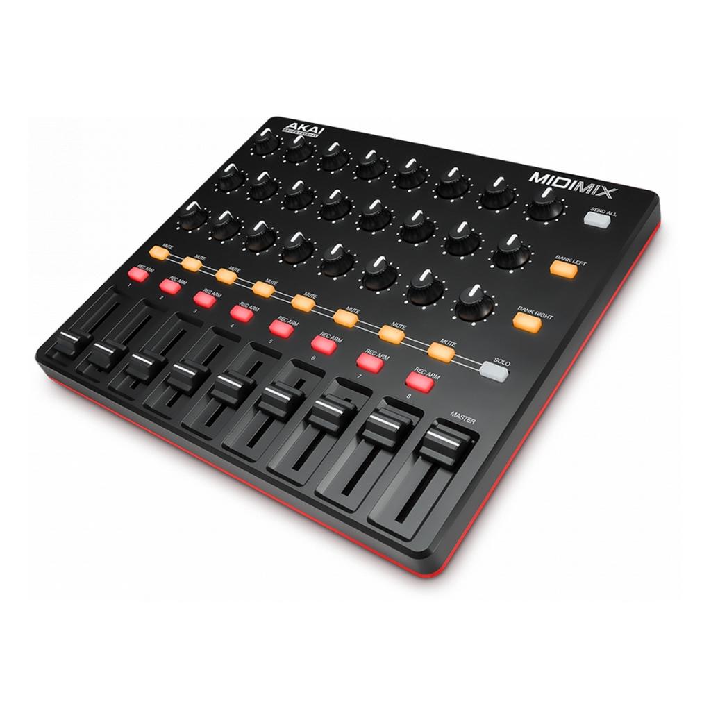 akai midimix mixer daw studio controller kompakter usb midi controller ebay. Black Bedroom Furniture Sets. Home Design Ideas