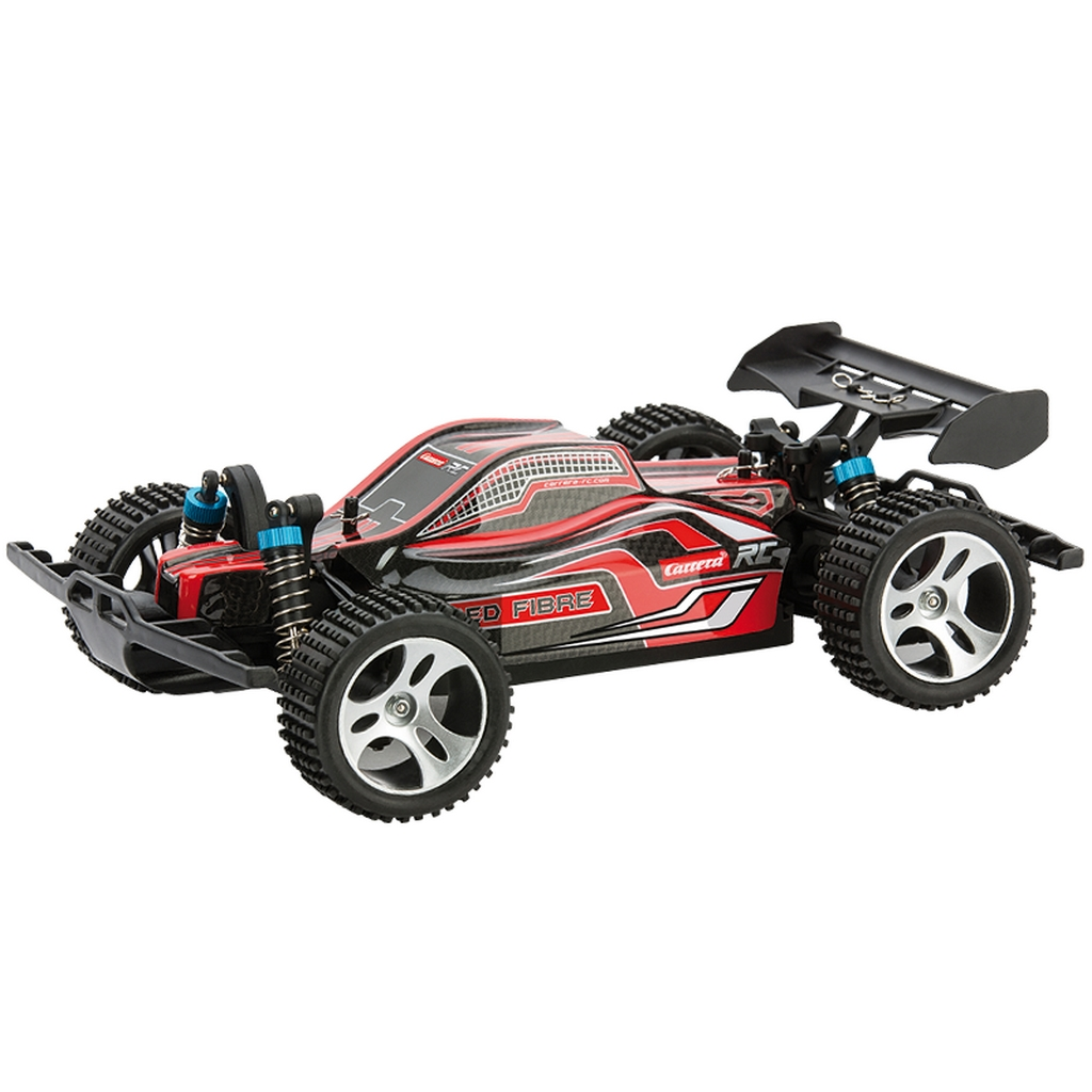 carrera profi rc red fibre 50 km h 4 wd allradantrieb auto buggy 2 4 ghz digital ebay. Black Bedroom Furniture Sets. Home Design Ideas