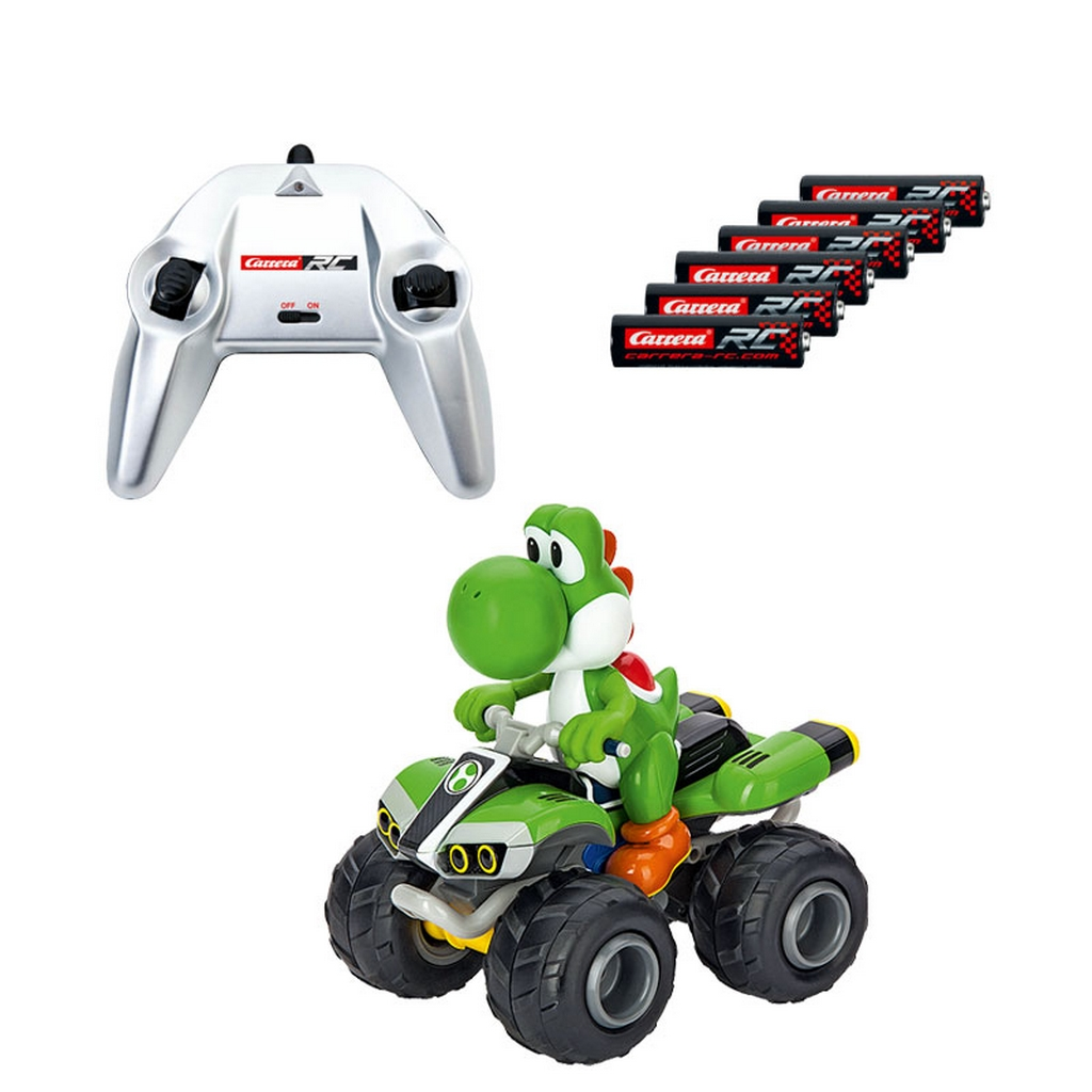 carrera rc nintendo mario kart 8 yoshi off road auto. Black Bedroom Furniture Sets. Home Design Ideas