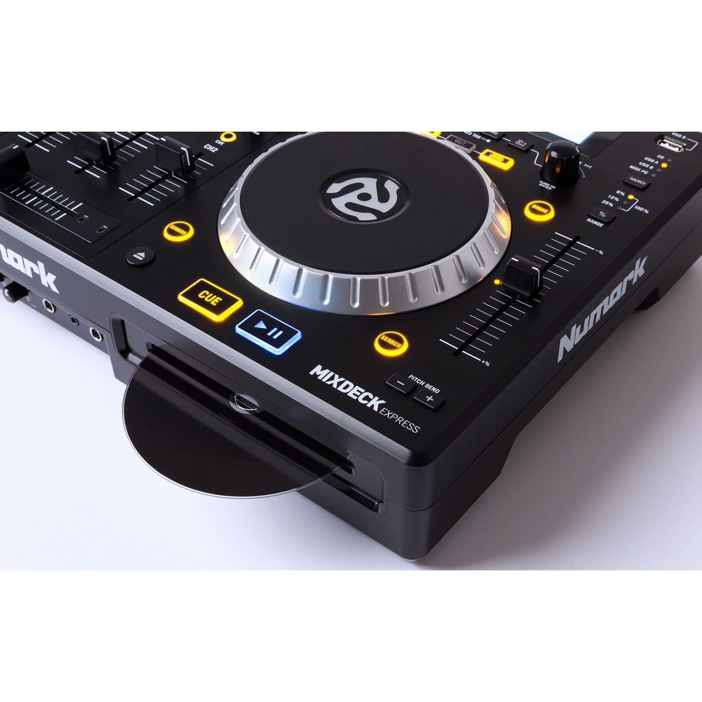 numark mixdeck express dj controller dj usb mp3 cd. Black Bedroom Furniture Sets. Home Design Ideas