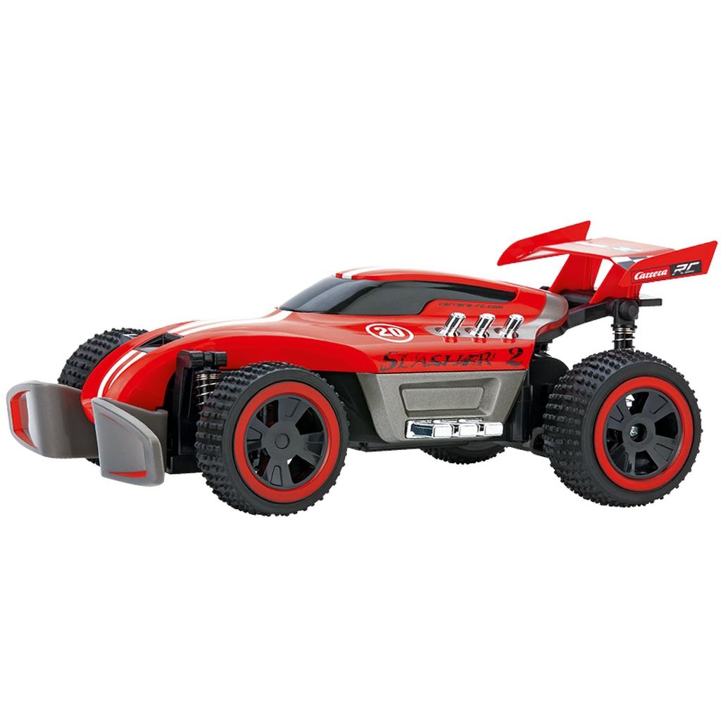 carrera rc 370201021 slasher 2 off road buggy 2 4 ghz full. Black Bedroom Furniture Sets. Home Design Ideas