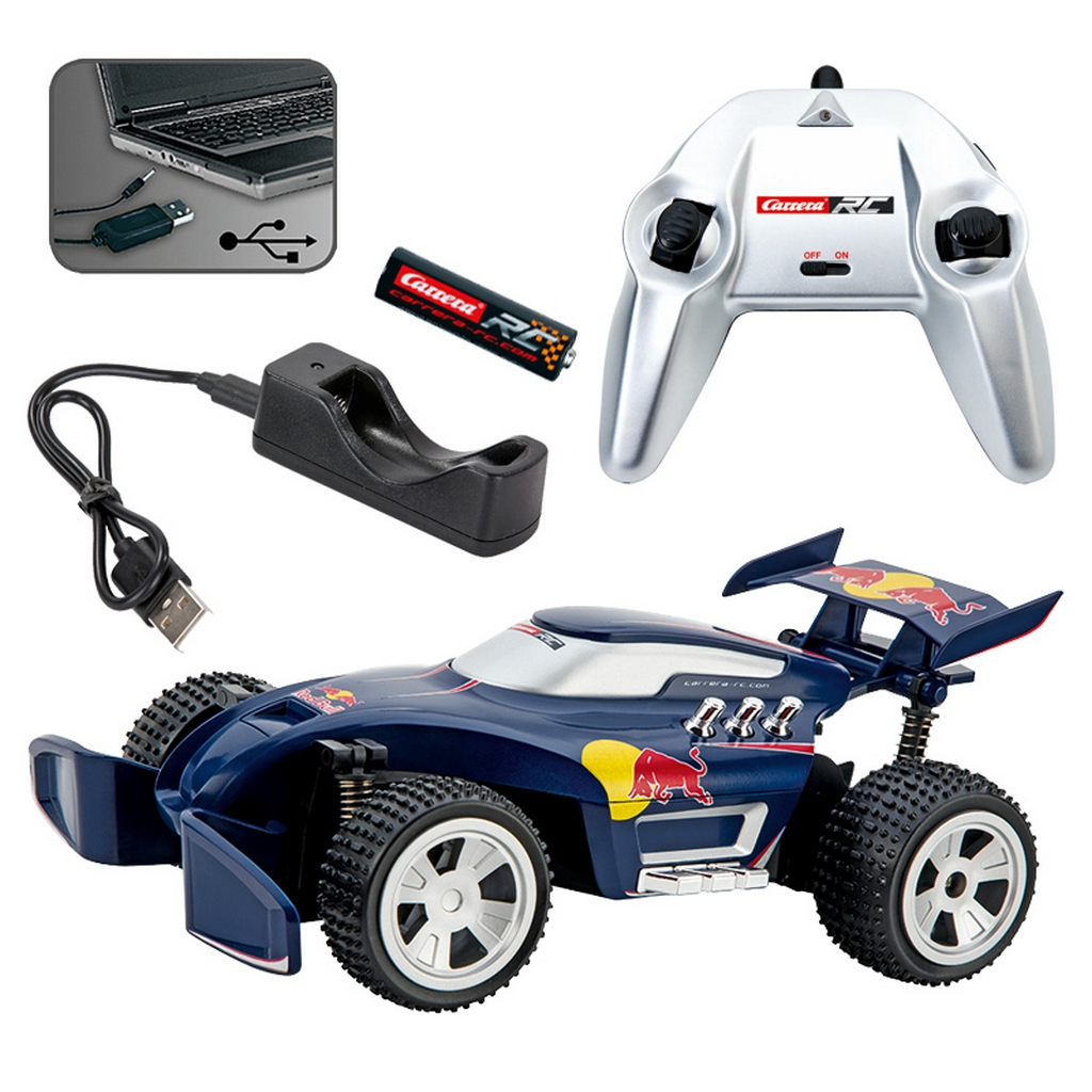 carrera rc 370201025 red bull rc1 off road buggy 2 4 ghz. Black Bedroom Furniture Sets. Home Design Ideas