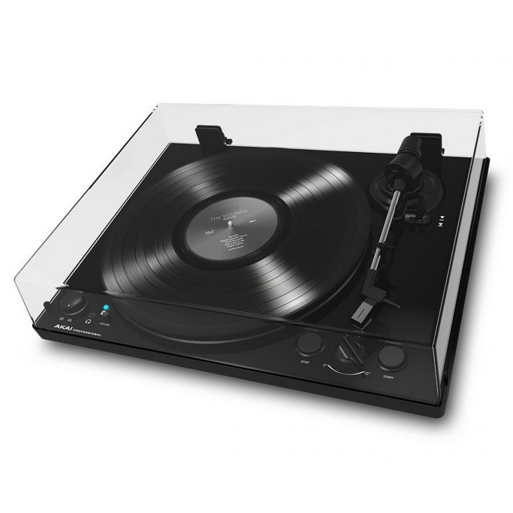 akai bt 100 plattenspieler turntable mit usb bluetooth. Black Bedroom Furniture Sets. Home Design Ideas