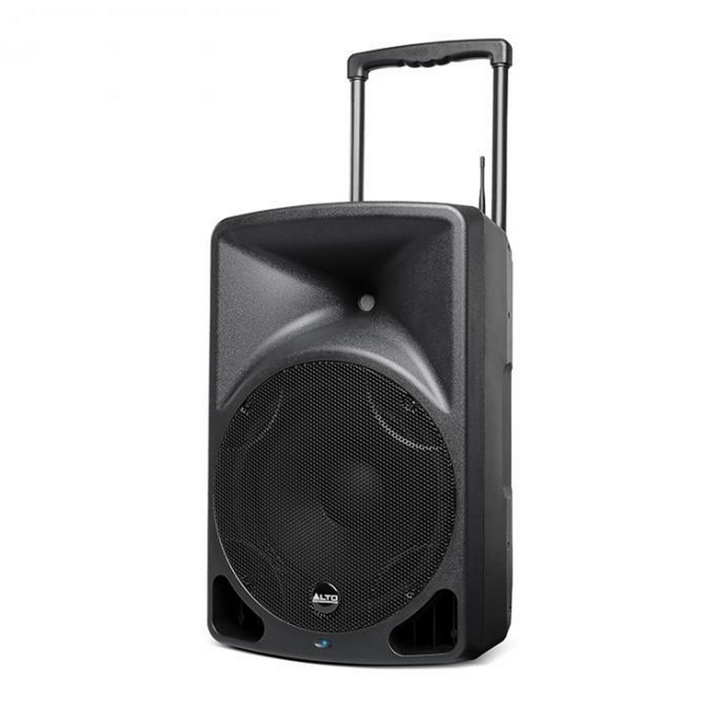 alto transport 12 400 w akku lautsprecher pa box funkmikrofon mediaplayer ebay. Black Bedroom Furniture Sets. Home Design Ideas