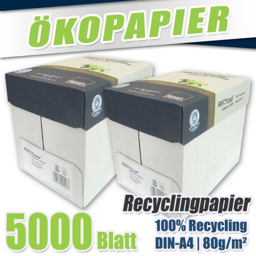 5000 classic white din a4 80g recycling kopierpapier. Black Bedroom Furniture Sets. Home Design Ideas
