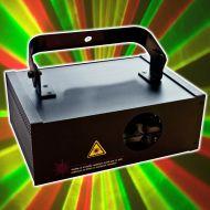 Laserworld EL-200 RGY Showlaser Tunnel Wellen Lasereffekt DMX Laser | DHL Paket