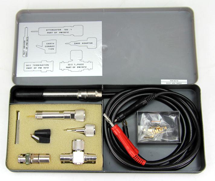 The Hf Current Probe : Philips pm mit hf tastkopf probe für multimeter