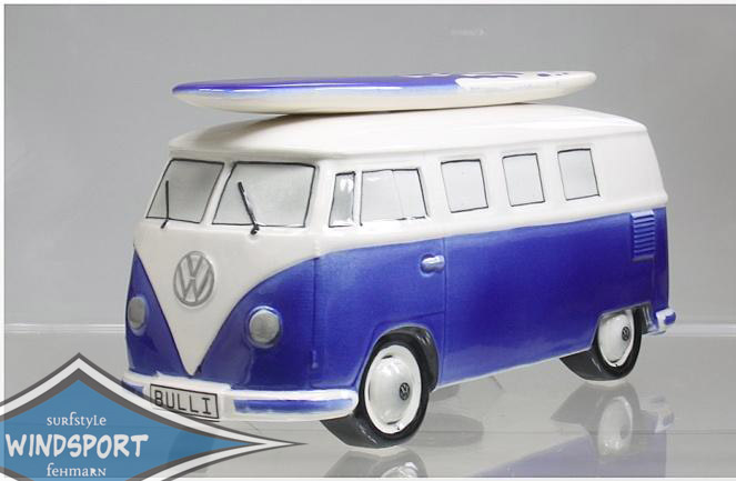 vw surf bulli t1 spardose uni dunkelblau vw bus lizensiert. Black Bedroom Furniture Sets. Home Design Ideas