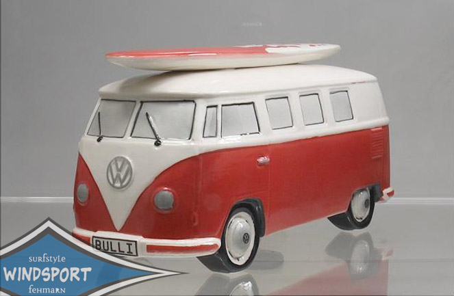 vw surf bulli t1 spardose uni rot vw bus lizensiert das. Black Bedroom Furniture Sets. Home Design Ideas