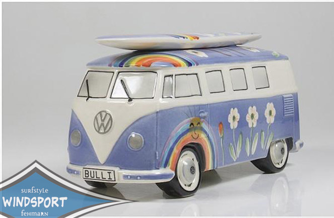 vw surf bulli t1 spardose hippie dunkelblau vw bus. Black Bedroom Furniture Sets. Home Design Ideas