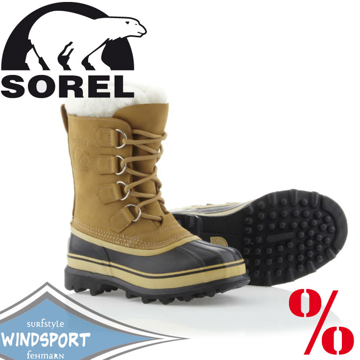 sorel caribou color buff damen winterstiefel schneestiefel wasserdicht sale ebay. Black Bedroom Furniture Sets. Home Design Ideas