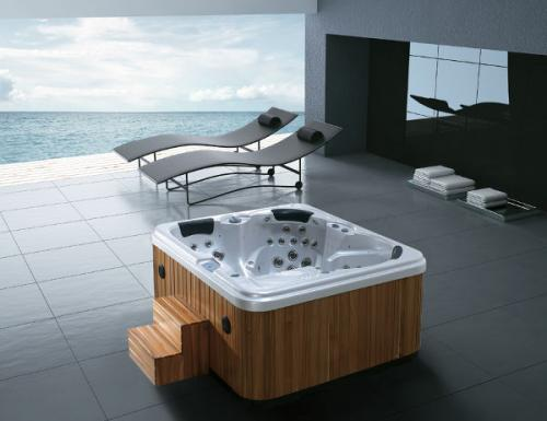 outdoor whirlpool ibado vw 7130 f r 3 personen 2 sitze 1 liege neu ebay. Black Bedroom Furniture Sets. Home Design Ideas