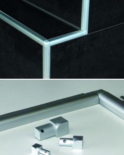 profi fliesenschiene edelstahl fliesenprofil viertelkreis. Black Bedroom Furniture Sets. Home Design Ideas