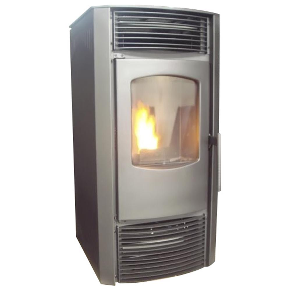pelletofen für wohnzimmer:Pelletofen Kaminofen Heizofen 9 KW Pelletkaminofen Ofen Pelletheizung