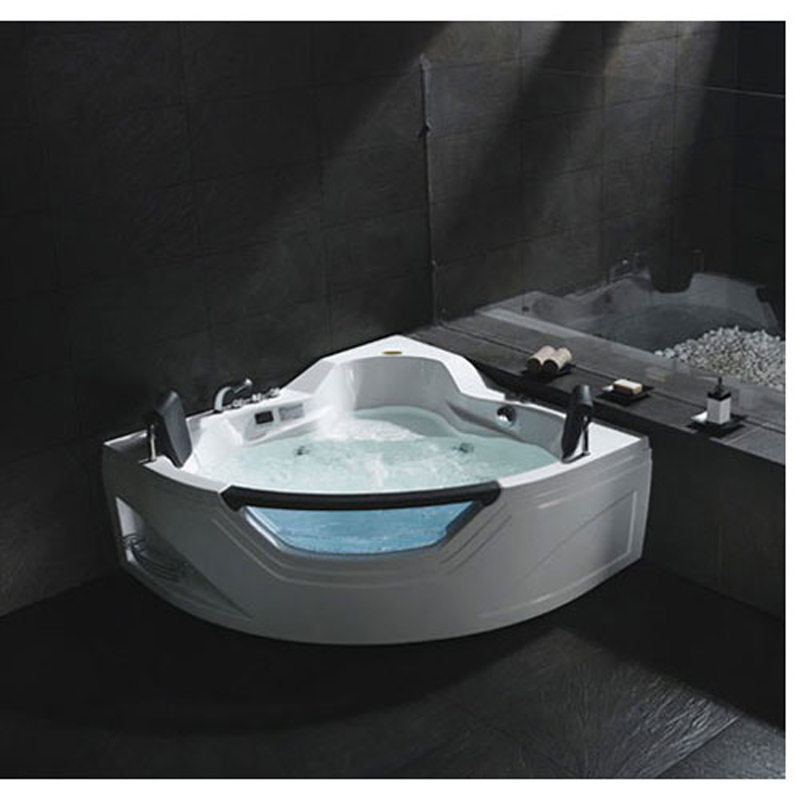 luxus wellness whirlpool badewanne pool spa eckbadewanne wanne f r 2 personen ebay. Black Bedroom Furniture Sets. Home Design Ideas