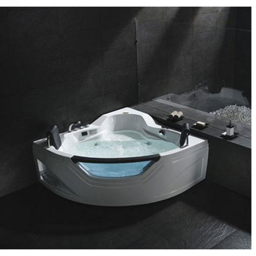 luxus wellness whirlpool badewanne pool spa eckbadewanne wanne fuer 2 personen. Black Bedroom Furniture Sets. Home Design Ideas