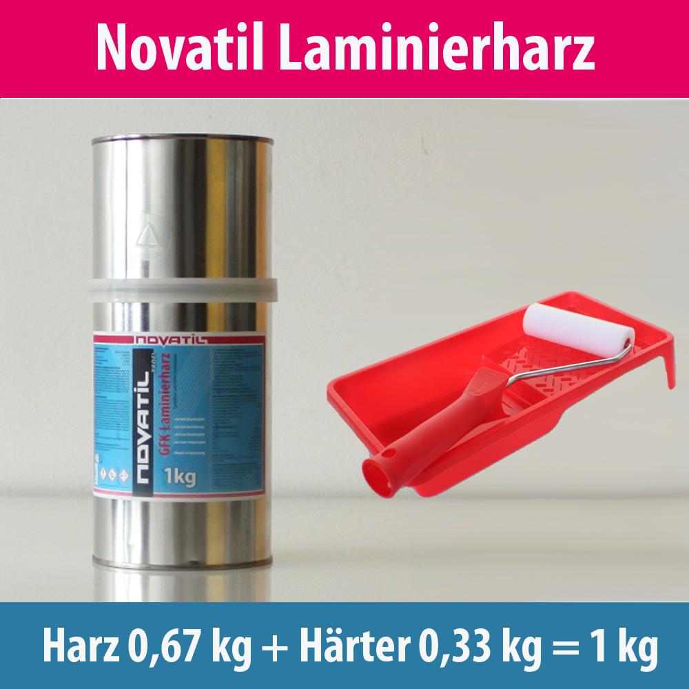 GFK Laminierharz Epoxidharz Harz u Härter Kombination in 1 kg 3 kg 7,5 kg 10 kg