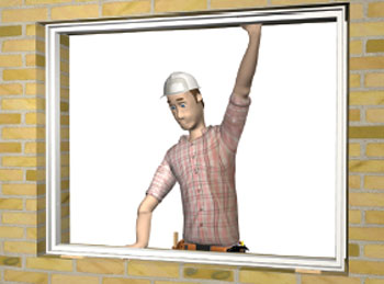 Türeneinbau  WINBAG Amo Bag Montagehilfe Fenster- Türeneinbau 4 Bags ...