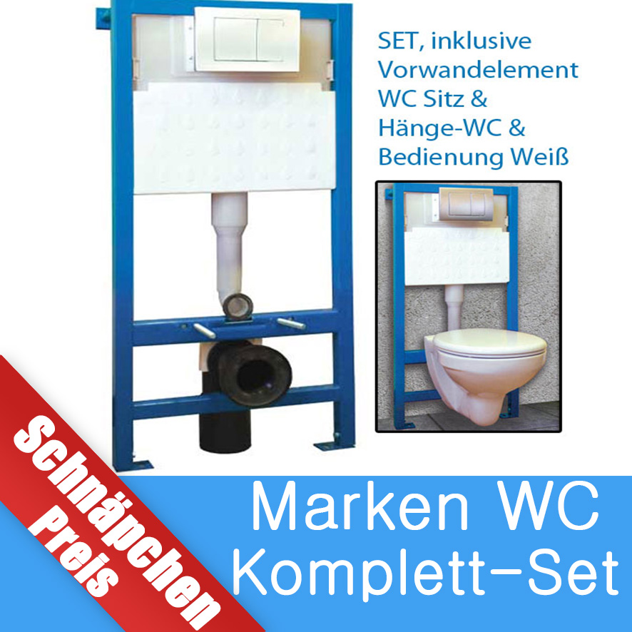 wc element set vorwandelement sp lkasten keramik wand toilette wc wc sitz ebay. Black Bedroom Furniture Sets. Home Design Ideas