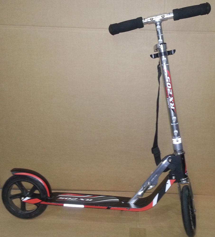 hudora 14724 big wheel rx 205 scooter. Black Bedroom Furniture Sets. Home Design Ideas