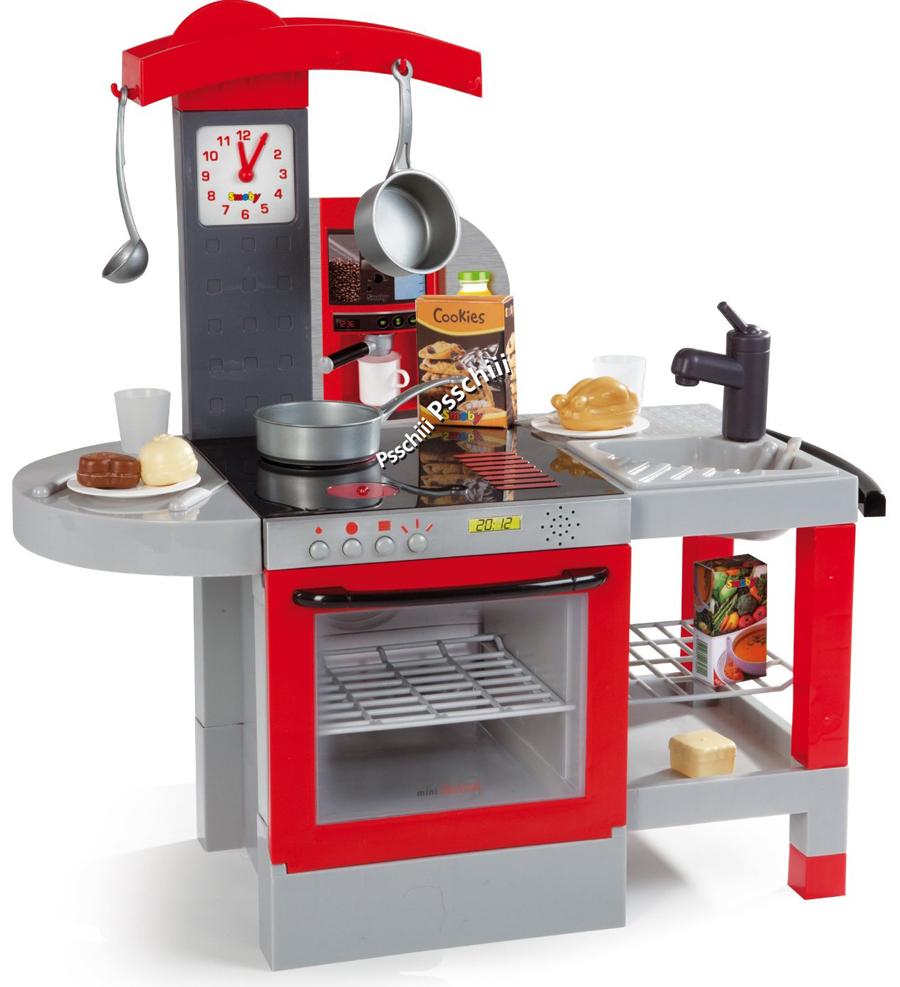 Smoby 24109  Tefal Kitchen Cheftronic  eBay -> Kuchnie Zabawkowe Tefal