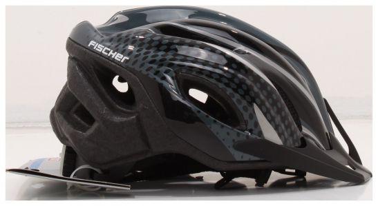 fischer fahrradhelm bike black pearl herren schwarz. Black Bedroom Furniture Sets. Home Design Ideas