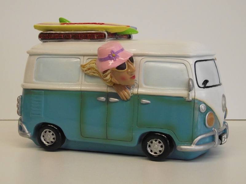 bulli t1 vw bus surfbus spardose sparschwein ebay. Black Bedroom Furniture Sets. Home Design Ideas