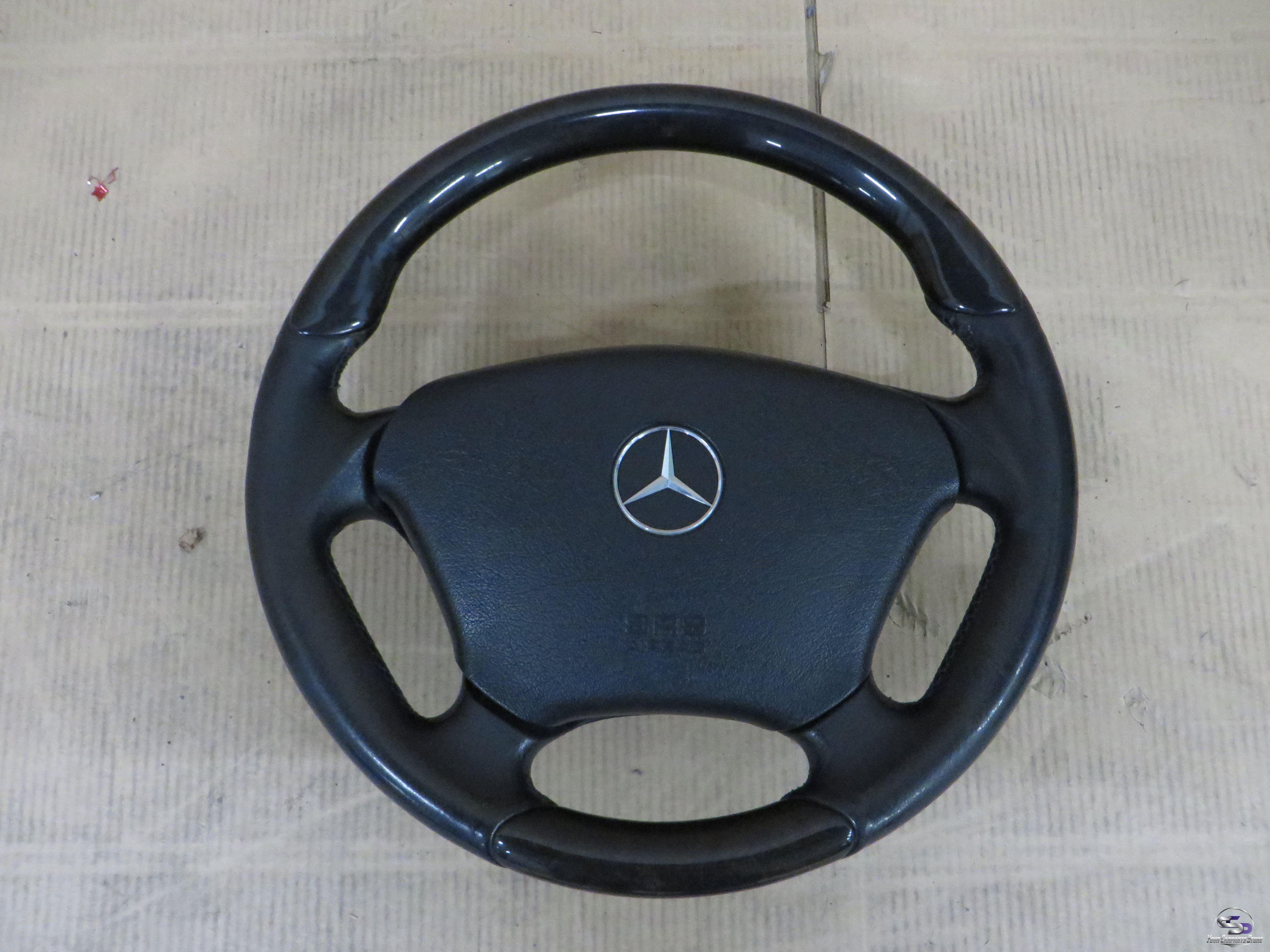Mercedes w163 m ml lenkrad holz leder lenkrad srs modul for Mercedes benz auto parts store